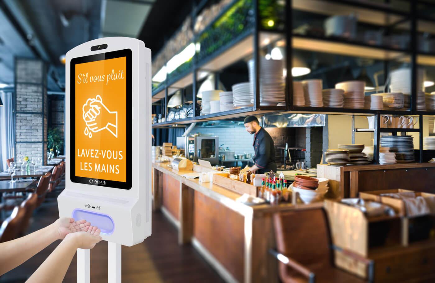 Kiosk dans un restaurant