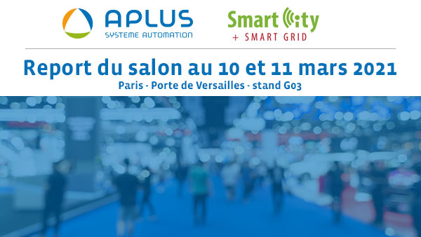 report du salon Smart City en mars 2021